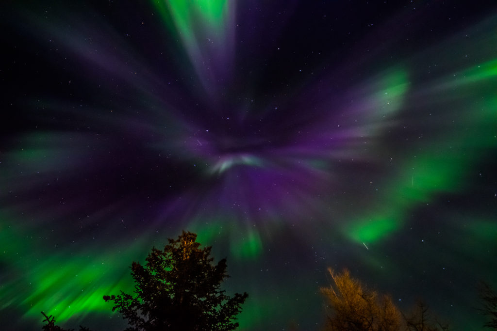 Northern Lights in Laugar